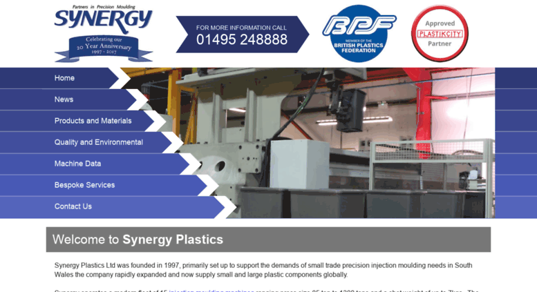 Access synergy-plastics com  Injection Moulding Wales | Plastic