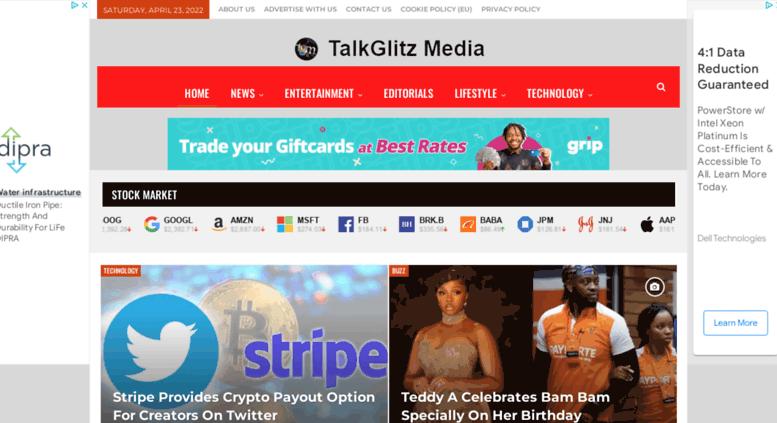 Access talkglitz tv  Latest World Entertainment News & Music Downloads