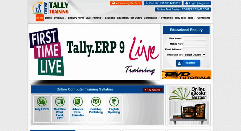 Tally Erp 9 Tutorial Pdf In Hindi
