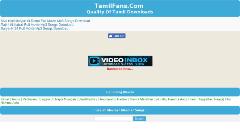 Access tamilmoviemp3songs com  Tamil Mp3 Songs Download