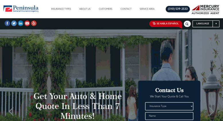 Mercury Home Insurance >> Access Targetupinsurance Com Mercury Insurance Agency Car