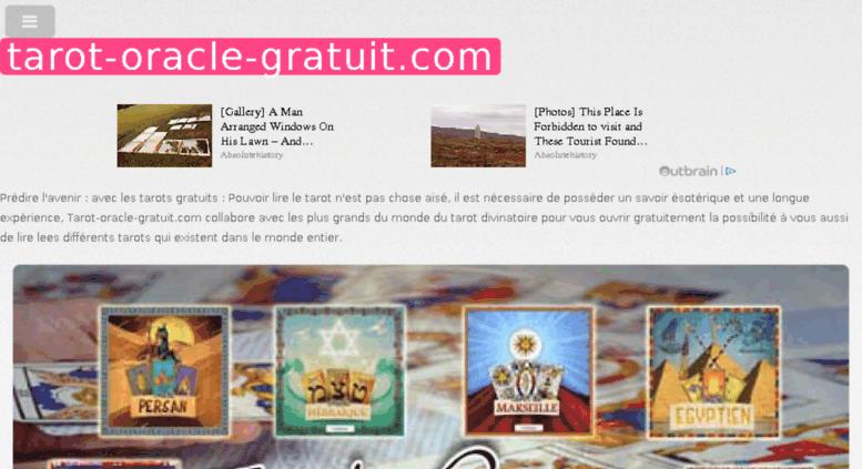 tarot oracle gratuit en ligne