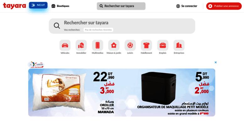Access Tayara Tn Vente Et Achat En Ligne Partout En Tunisie Tayara