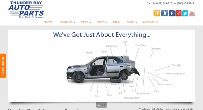 Bay Auto Parts >> Access Tbauto Ca Thunder Bay Auto Parts