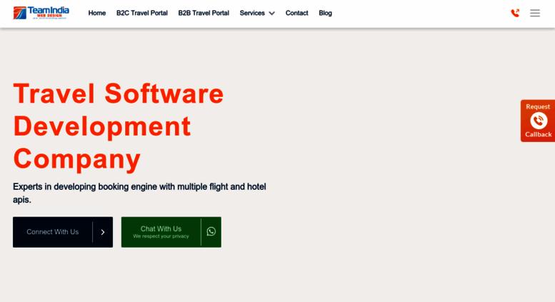 Access teamindiawebdesign com  Hotel XML API Integration
