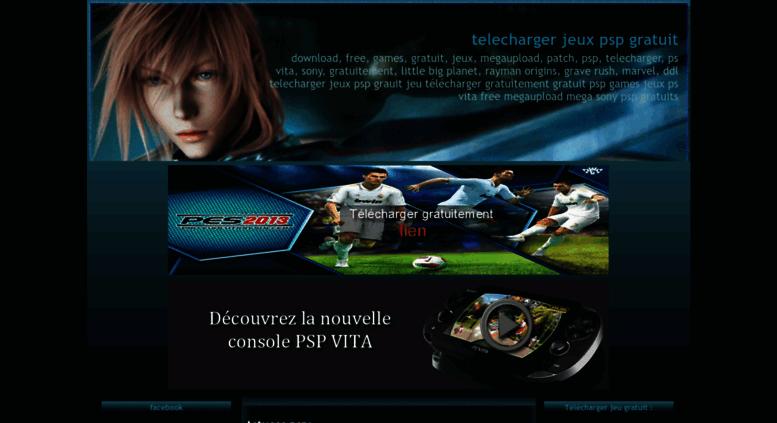 download jeux psp