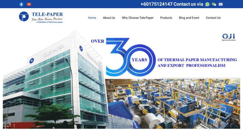 Access telepaper com  Tele-Paper: Thermal Paper Roll