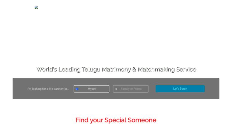 Telugu-Matchmaking