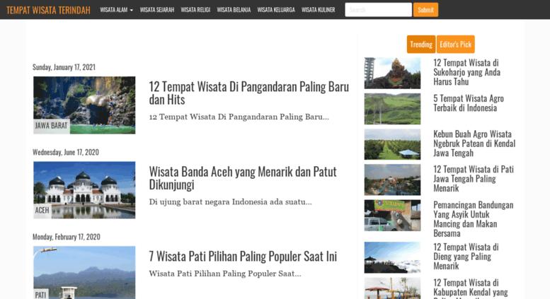 Access Tempatwisatadaerah Blogspot Co Id Tempat Wisata Terindah