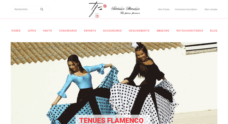 b06986e8f3d Access tendanceflamenca.fr. Robes Flamenco