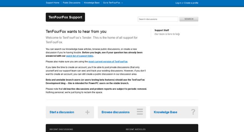 Access tenfourfox tenderapp com  Welcome - TenFourFox Support