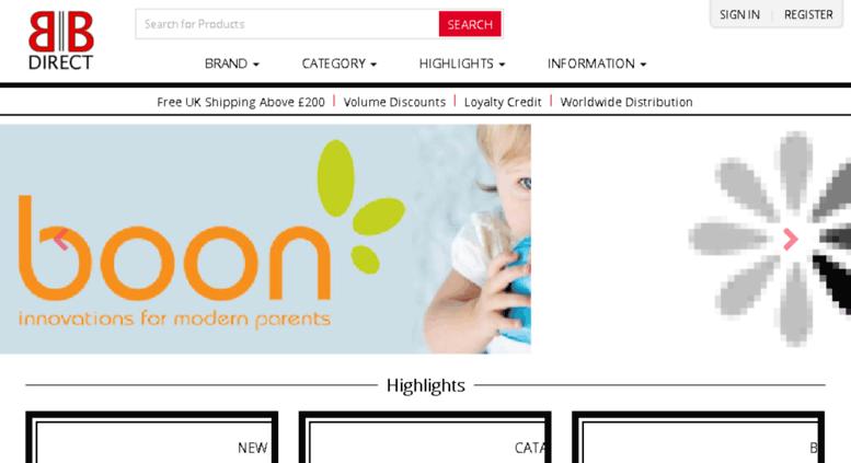 Test Babybrandsdirect Co Uk Screenshot
