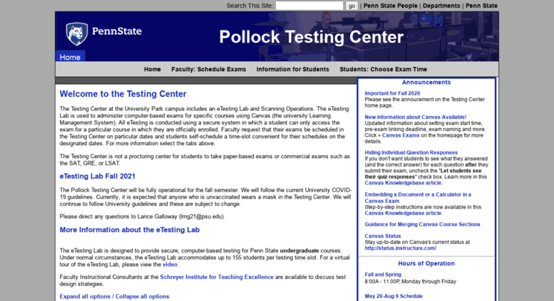 Access testing psu edu  Home - Testing at Penn State