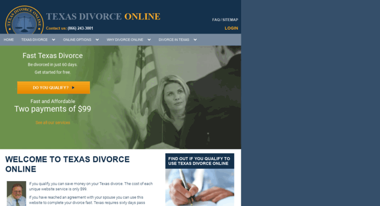 cheap texas divorce on line