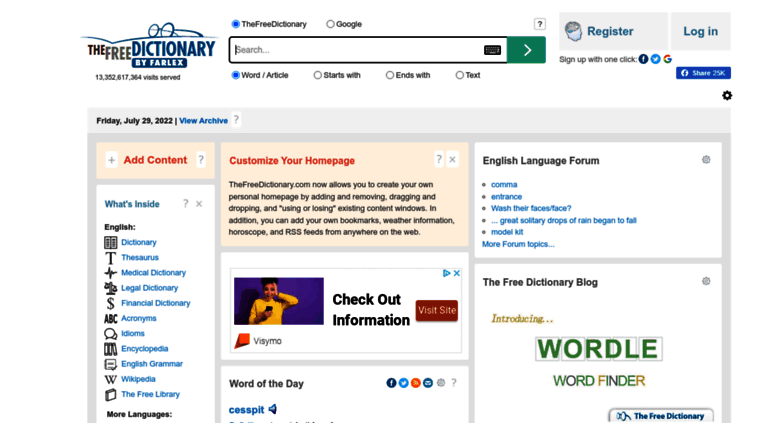 Dictionary encyclopedia and thesaurus - the free dictionary