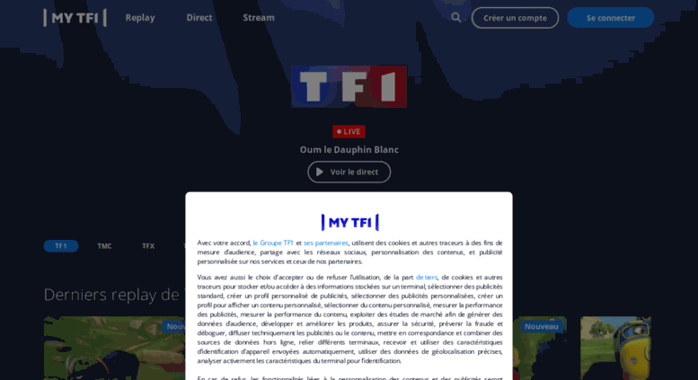 Access Tfou Fr Tf1 Replay Direct Vidéos Et News Mytf1