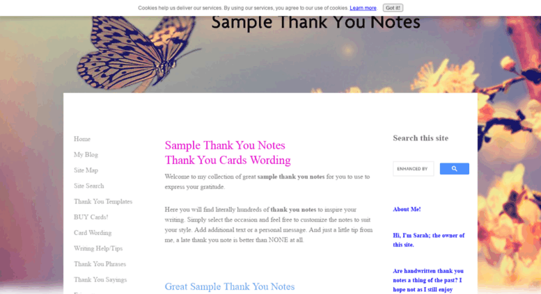 access thank you note examples wording ideas com sample thank you