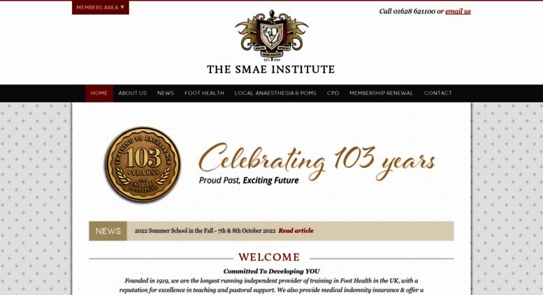 smae institute login