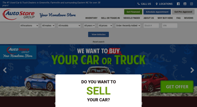 Auto Store Of Greenville >> Access Theautostoregroup Com Auto Store Group Greenville Wilson