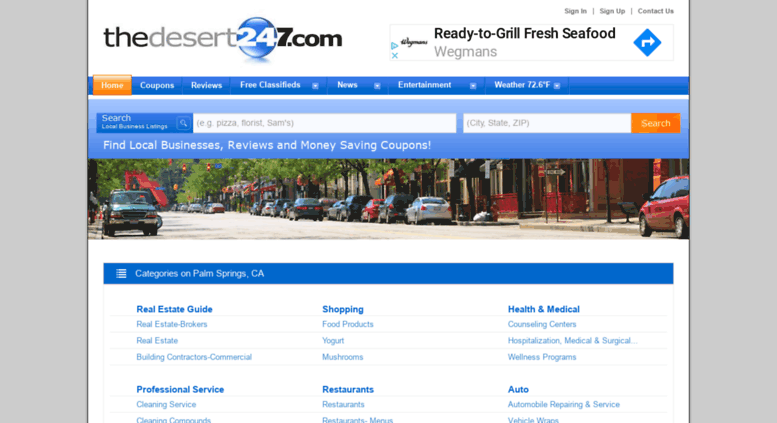 Access thedesert golocal247 com  Palm Springs, CA at