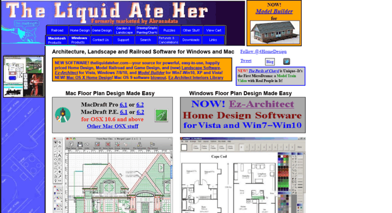 Access Theliquidateher Com New Windows 7 8 10 Vista And Now Mac Os X Home Design Software And Great Model Train Software Too