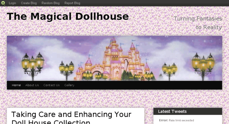 Access themagicaldollhouse blog com  The Magical Dollhouse | Turning
