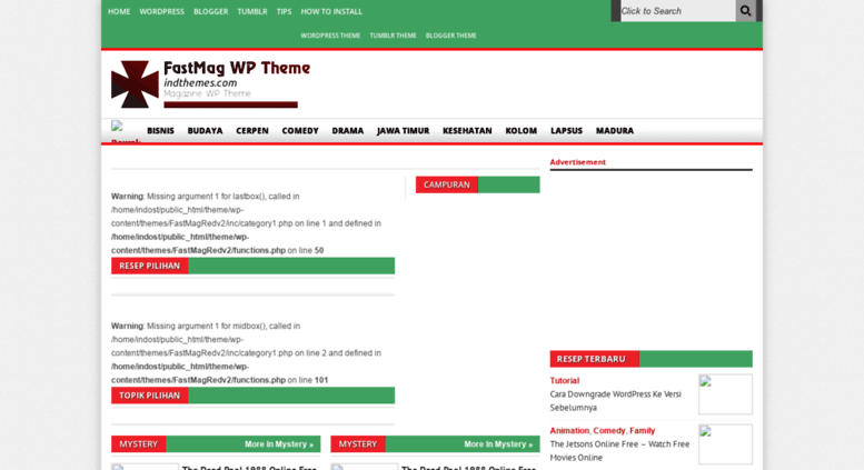 Access theme indostreamer com  Download Nulled - Download Theme