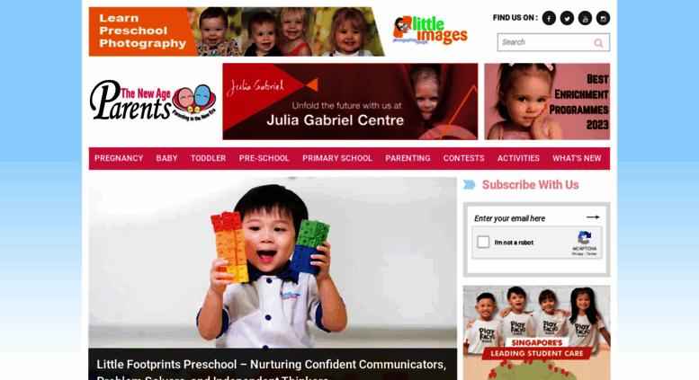 Access thenewageparents.com. Parenting Magazine Singapore