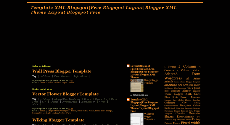 Blo Template Xml