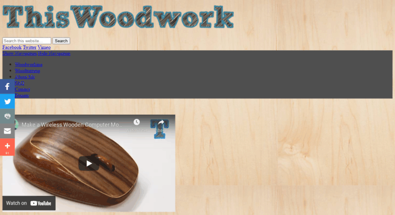 woodturning videos this month Access Thiswoodworkcom ThisWoodwork Woodworking And
