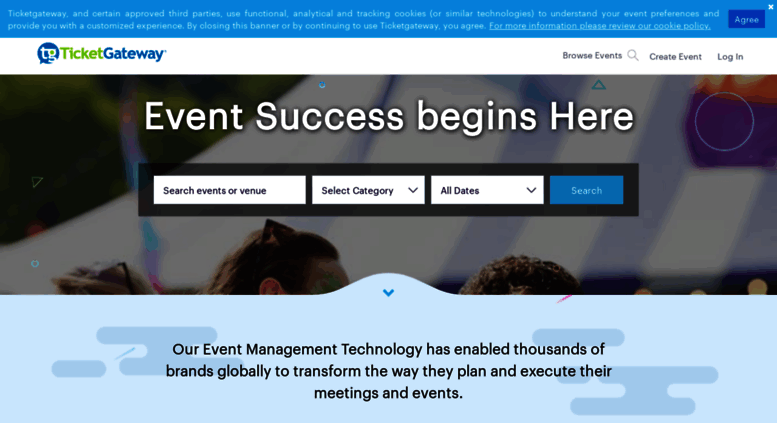 access ticketgateway com create an event book sell your tickets