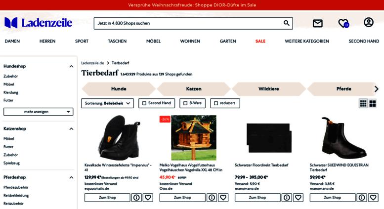 f25234482e76c2 Access tierbedarf.ladenzeile.de. Tierbedarf   Tiernahrung günstig ...