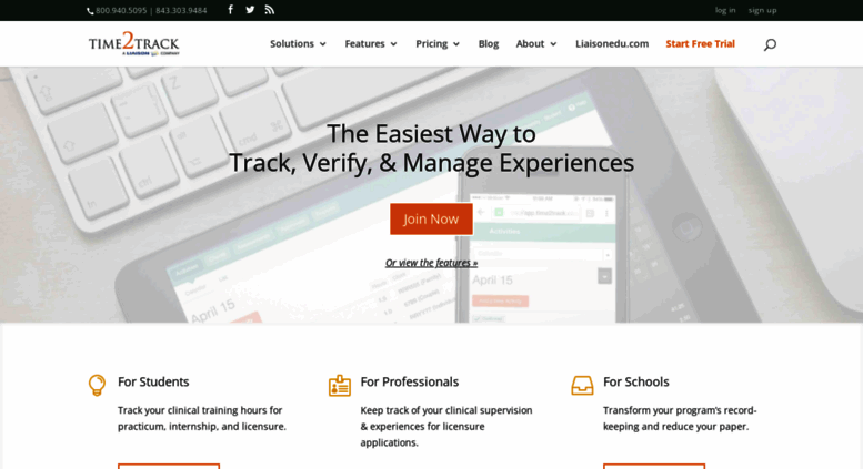 Access time2track com  Time2Track - track clinical hours for