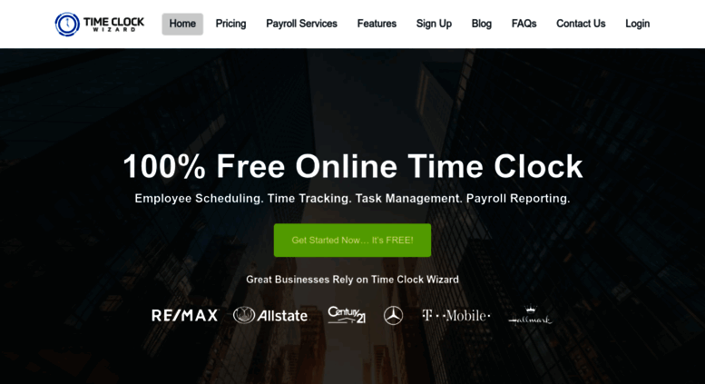 Access timeclockwizard com  Free Online Time Clock