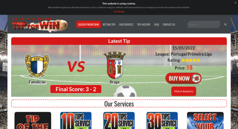 Access tipforwin com  Best Soccer Predictions Site For Betting Tips