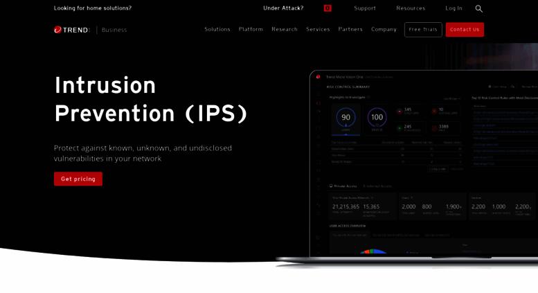 Access tippingpoint com  Enterprise Intrusion Prevention