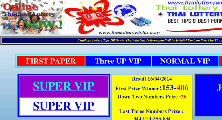 Access tltm-or-th net  Thai Lotto Tips:Thai Lottery:Thai