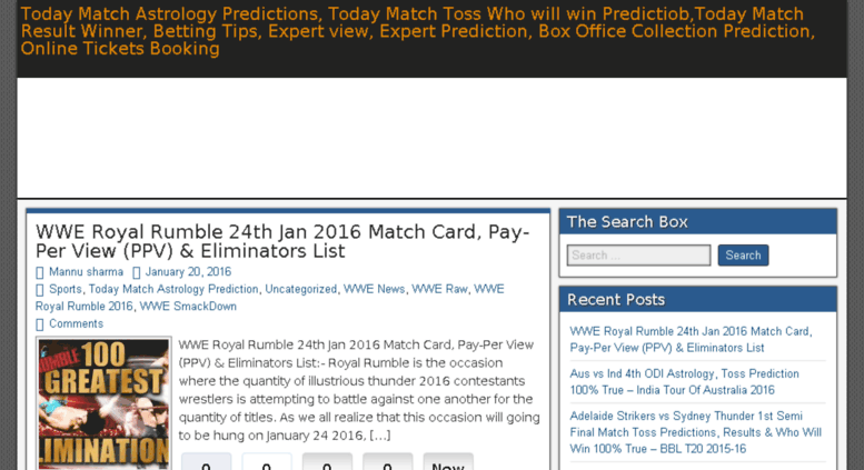 Access todayastrologypredictions com  Today Match Astrology