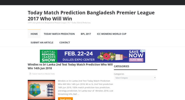 Access todayprediction in  Today Cricket Match Prediction 9