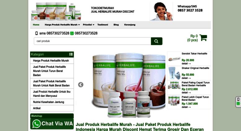 harga paket dieta herbalife 2020