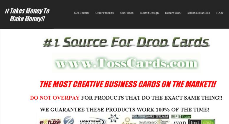 Tosscards Screenshot