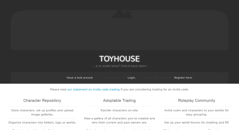 Access toyhou se  Toyhouse