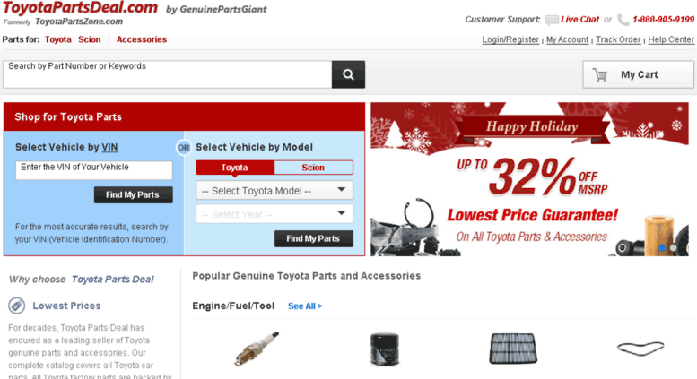 Toyota Parts Online >> Access Toyotapartszone Com Toyota Parts Genuine Oem