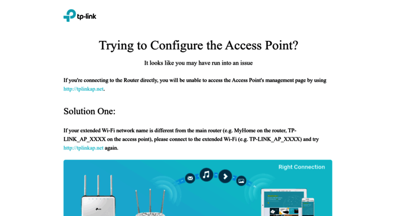Access tplinkap net  Trying to Configure the Access Point? | TP-Link