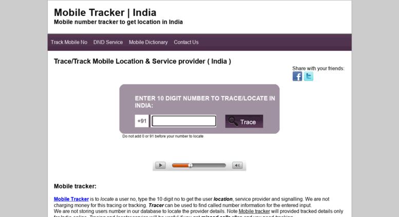 Access tracker mobileringtonesstore com  Mobile Tracker