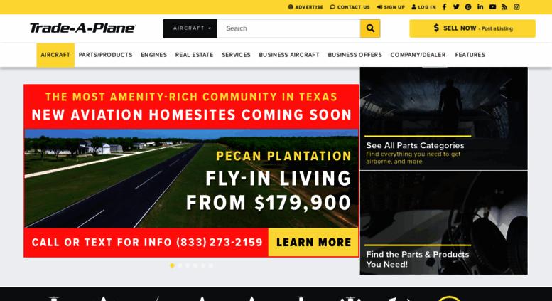 Access trade-a-plane com  Search For Aircraft & Aircraft Parts