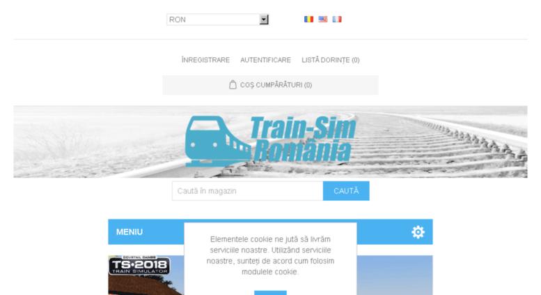 Access train-sim ro  Train-Sim RO