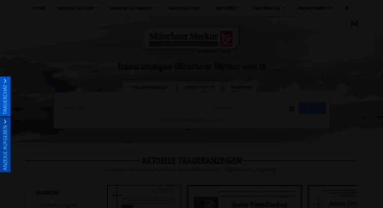 Merkur Online Traueranzeigen