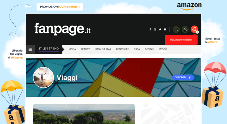 Access Travel Fanpage It Viaggi Fanpage