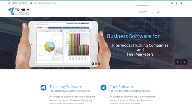 Intermodal Trucking Software